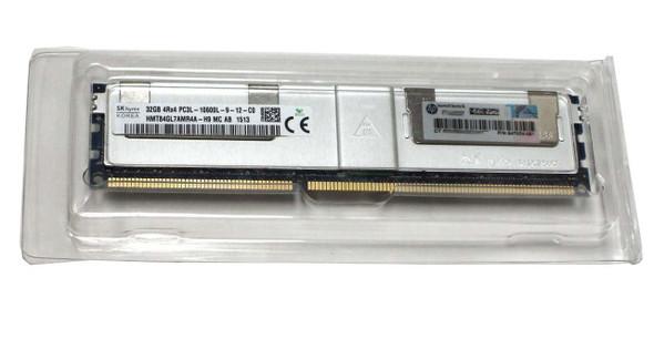 HPE 647654-081 32GB (1x32GB) Quad Rank x4 PC3L-10600 DDR3-1333 LRDIMM CL9 (CAS-9-9-9) LP Memory Kit for ProLiant Gen8 Servers (New Bulk with 1 Year Warranty)