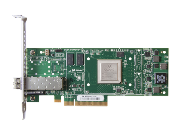 HPE StoreFabric SN1000Q 699764-001 16Gbps Single Port Low Profile PCI Express 3.0 Fibre Channel Host Bus Adapter (Brand New with 3 Years Warranty)