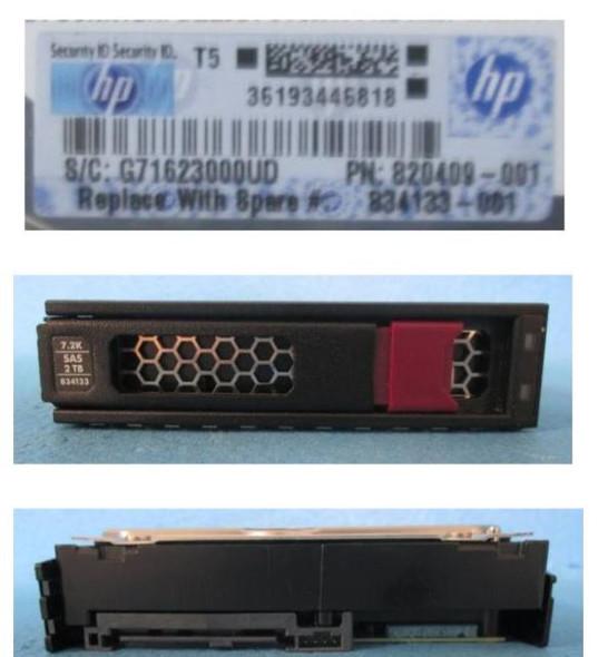 HPE 846523-002 2TB 7200RPM 3.5inch LFF Digitally Signed Firmware SAS-12Gbps LPC Midline Hard Drive for ProLiant Gen9 Gen10 Servers (New Bulk with 1 Year Warranty)