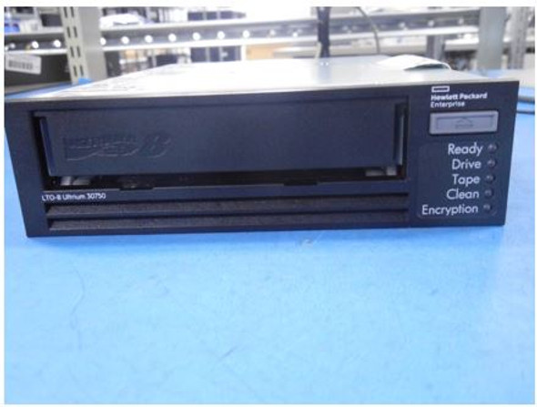 HPE 882279-001 LTO-8 Ultrium 30750 12TB/30TB 300MBps 29pin SAS-6Gbps internal Tape Drive (Brand New with 1 Year Warranty)