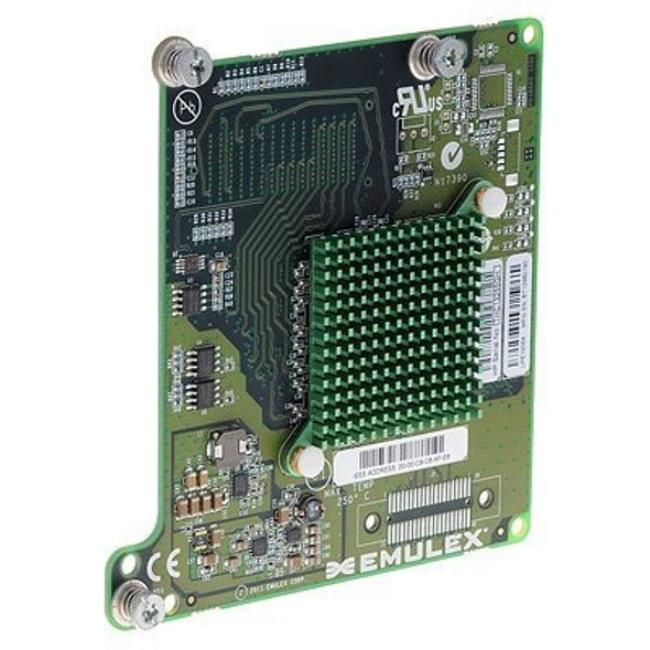 HPE 659818-B21 BLc Emulex LPE1205A Dual Port 8GB PCI Express 2.0 Fibre Channel Host Bus Adapter for Bladesystem (Brand New with 3 Years Warranty)
