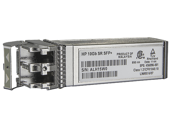 HPE 455883-B21 c-Class 10Gb SFP+ SR Transceiver Module for BladeSystem and ProLaint Gen7 Gen8 Gen9 Servers (Brand New with 3 Years Warranty)