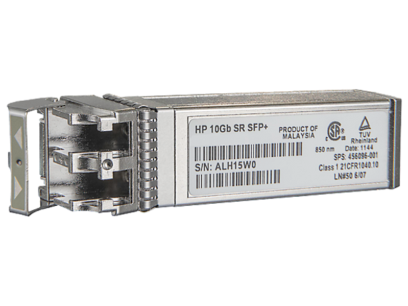 HPE 456096-001 c-Class 10Gb SFP+ SR Transceiver Module for BladeSystem and ProLiant Gen7 Gen8 Gen9 Servers (Brand New with 3 Years Warranty)