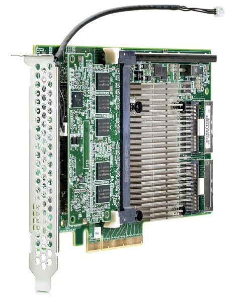HPE 726897-B21 Smart Array P840/4GB Flash Backed Write Cache (FBWC) Dual Port PCI Express 3.0 x8 Internal SAS-12Gbps / SATA-6Gbps Storage RAID Controller (New Bulk Pack with 1 Year Warranty)