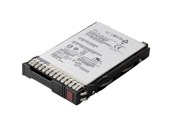 HPE 872344-H21 480GB 2.5inch SFF MLC Power Loss Protection (PLP) Digitally Signed Firmware SATA-6Gbps Smart Carrier Hot-Swap Mixed Use-3 Solid State Drive for ProLiant Gen8 Gen9 Gen10 Servers (New Bulk Pack With 1 Year Warranty)