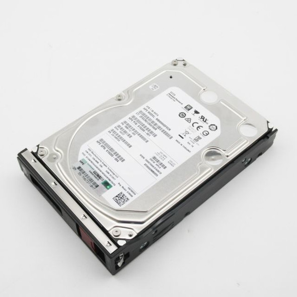 HPE 819205-004-LP 8TB 7200RPM 3.5inch LFF Digitally Signed Firmware 512e SATA-6Gbps Low Profile Carrier Midline Hard Drive for ProLiant Gen10 Servers (New Bulk Pack with 1 Year Warranty)