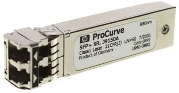 HPE J9150A X132 10GbE (Gigabit Ethernet) SFP+ LC SR (Short Reach) Transceiver Module (Brand New with 3 Years Warranty)