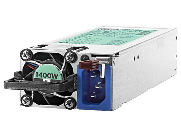 HPE 720620-B21 1400Watt Flex Slot Platinum Plus Hot Plug High Efficiency Power Supply Kit ProLiant Generation9 Servers (Clean Pull with 90 Days Warranty)