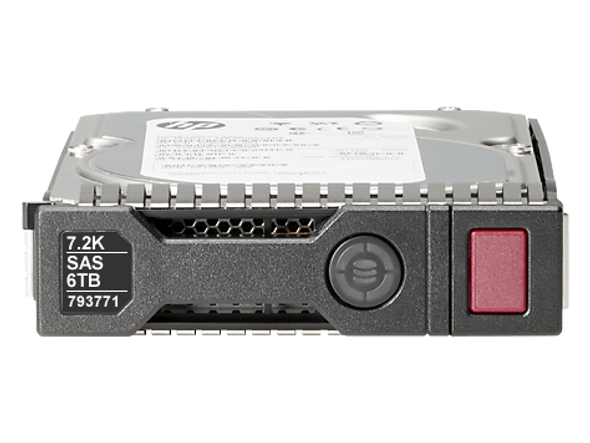 HPE 793771-001 6TB 7200RPM 3.5inch LFF SAS-12Gbps SC Midline Helium Hard Drive for ProLaint Gen8 Gen9 Servers (Brand New with 3 Years Warranty)
