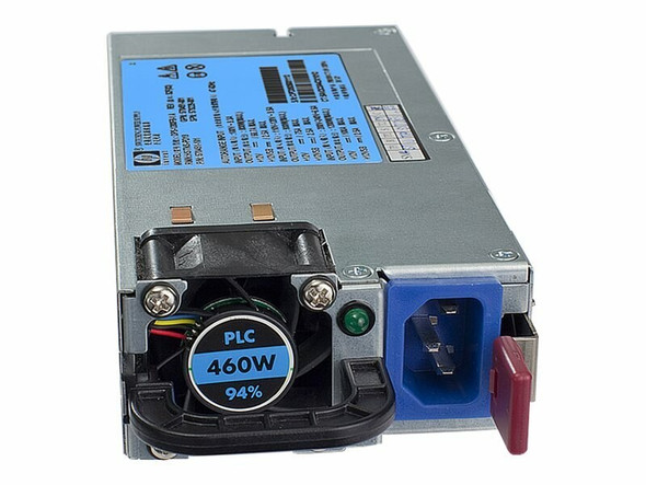 HPE 499250-001 460Watt 100V-240V AC High Efficiency Common Slot Power Supply for ProLiant Gen6 Gen7 Gen8 Gen9 Servers (Grade A with 90 Days Warranty)