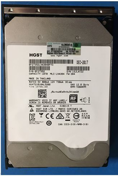 HPE P09691-X21 960GB 3.5inch LFF Triple-Level Cell Digitally Signed Firmware SATA-6Gbps Low Profile Converter Read Intensive Solid State Drive for ProLiant Gen9 Gen10 Server (Brand New With 3 Years Warranty)
