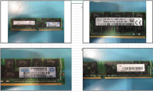 HPE 809084-091 32GB (1x32GB) Dual Rank x4 PC4-2400T-L DDR4-2400MHz CL17 (CAS-17-17-17) ECC Registered LRDIMM DDR4 Smart Load Reduced Memory Kit for ProLiant Gen10 Servers (Brand New 3 Years Warranty)