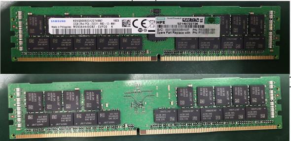 HPE P19250-001 64GB (1x64GB) Dual Rank x4 2933MHz 288-Pin PC4-2933Y-R DDR4-2933 CL21 (CAS-21-21-21) ECC Registered RDIMM Smart Memory Kit for ProLiant Gen10 Servers (Brand New with 3 Years Warranty)