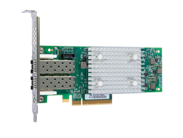 HPE StoreFabric SN1100Q P9D96A 16Gbps Dual Port Low Profile PCI Express 3.0 Fibre Channel Host Bus Adapter (Brand New with 3 Years Warranty)