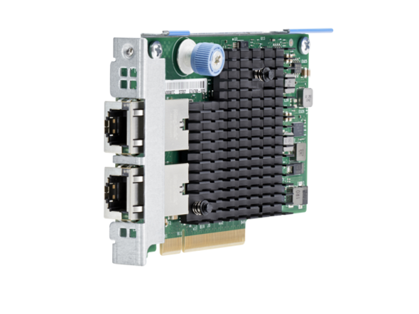 HPE 700699-B21 10Gbps Ethernet Dual Port PCI Express 2.1 x8 561FLR-T Network Adapter for Gen8 Gen9 ProLiant and Apollo Servers (Grade A with 90 Days Warranty)