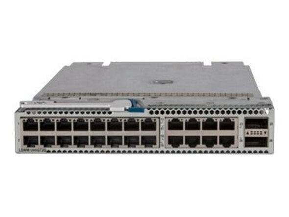 HPE JH182A 5930/5940 24-Port 10Gbps Ethernet 1G/10GBASE-T RJ45 QSFP+ 2-Port Expansion Module (Grade A with Lifetime Warranty)