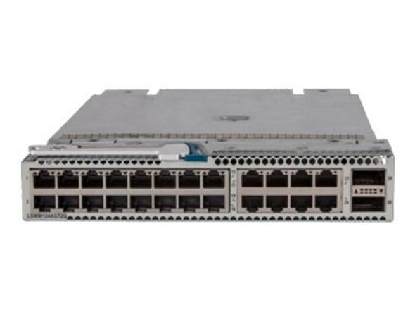 HPE JH182-61101 5930/5940 24-Port 10Gbps Ethernet 1G/10GBASE-T RJ45 QSFP+ 2-Port Expansion Module (Grade A with Lifetime Warranty)
