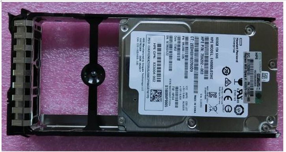 HPE N9X15A 600GB 15000RPM 2.5inch SFF Dual Port SAS-12Gbps Enterprise Hard Drive for StorageApps StoreVirtual 3000 (Brand New with 3 Years Warranty)