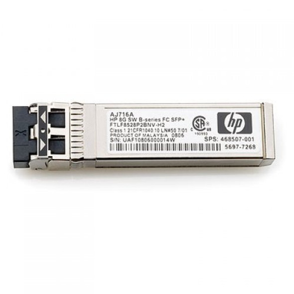 HPE 455855-001 10Gbps SFP+ (Small Form-factor Pluggable Plus) C-Class Short Range Standard Multi-mode Fiber 300m 850nm LC Connector Transceiver Module for BladeSystem