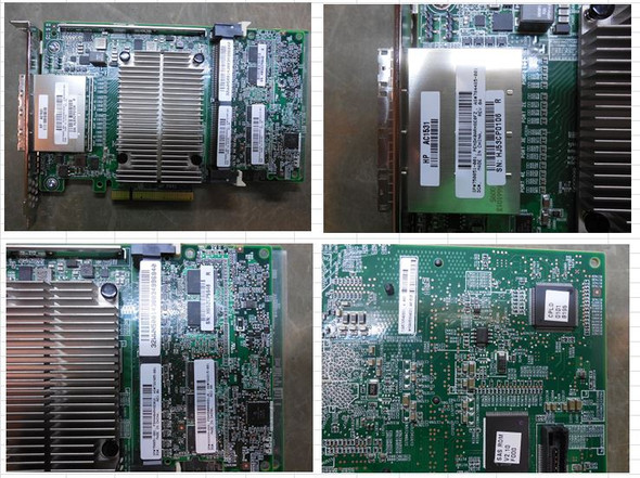 HPE 750051-001 Smart Array P841 SAS-12GB 4-Ports PCI Express 3.0 x8 Flash Backed Write-back Cache Controller for ProLiant Gen9 Servers (Brand New with 3 Years Warranty)