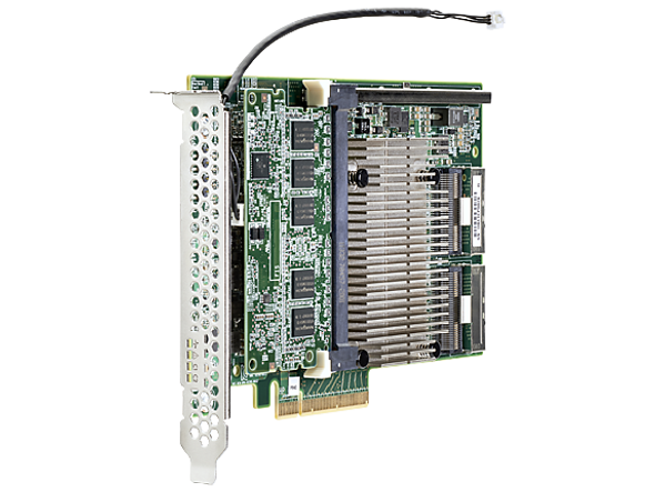 HPE 761880-001 P840 4GB 16 Channel PCI Express -3.0 x8 SATA-6Gbps / SAS-12Gbps Smart Array Flash Backed Write Cache RAID Storage Controller for Gen9 ProLiant Servers (New Bulk Pack with 1 Year Warranty)