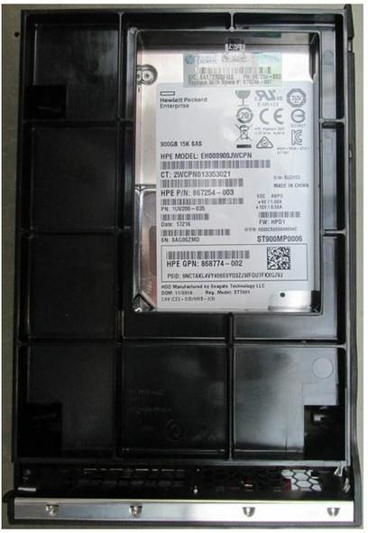 HPE 870761-X21 900GB 15000RPM 3.5inch LFF Digitally Signed Firmware 512n SAS-12Gbps LPC Enterprise Hard Drive for ProLiant Gen9 Gen10 Servers (Brand New with 3 Years Warranty)