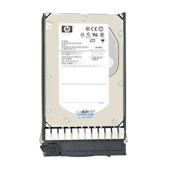 HPE 875217-002 600GB 15000RPM 2.5inch SFF Dual Port SAS-12Gbps Enterprise Hard Drive for Modular Smart Array 1040/2040 SAN Storage (Brand New with 3 Years Warranty)