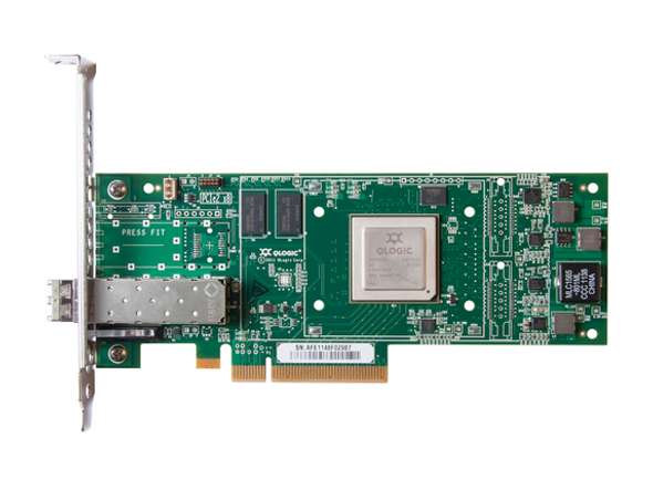 HPE StoreFabric QW971A SN1000Q 16Gbps Single Port Low Profile PCI Express 3.0 Fibre Channel Host Bus Adapter (Refurbished with 90 Days Warranty)