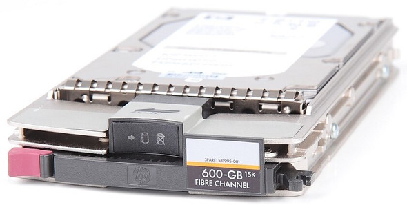 HPE AG804B 450GB 15000RPM 1-inch (3.5inch) Large Form Factor Dual Port Fibre Channel-2/4Gbps Hard Drive for BladeSystems and EVA 4000/6000/8000 (Grade A with Lifetime Warranty)