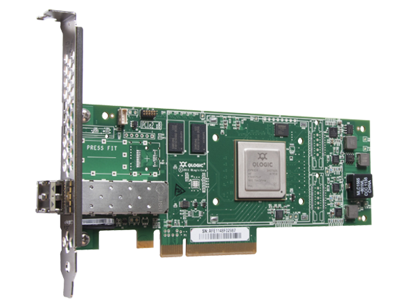HPE StoreFabric 699764-001 SN1000Q 16Gbps Single Port Low Profile PCI Express Fibre Channel Host Bus Adapter (Refurbished with 90 Days Warranty)