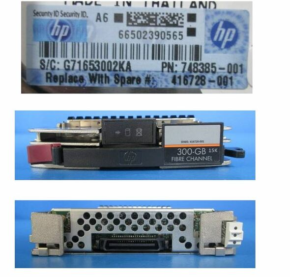 HPE AG718B 300GB 15000RPM 3.5inch LFF Fibre Channel-4Gbps 40 Pins Hot-Swap Internal Hard Drive (Grade A with Lifetime Warranty)