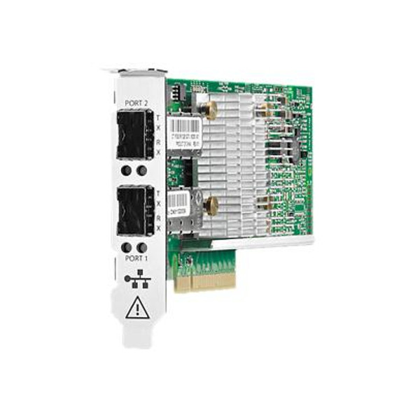 HPE StoreFabric CN1100R N3U52A 10GbE BASE-T Dual Port Converged Network Adapter for ProLiant XL170r (Gen10) XL190r (Gen10) Servers and StoreEasy 3850 (3 Years)