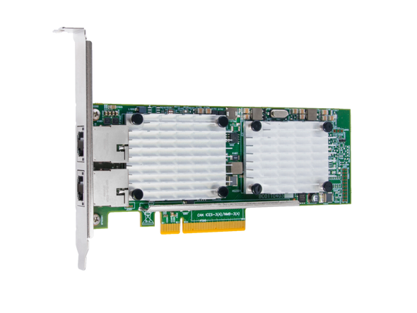 HPE StoreFabric CN1100R 827605-001 10GbE BASE-T Dual Port Converged Network Adapter for ProLiant Gen10 Servers (Brand New with 3 Years Warranty)