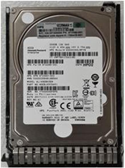 HPE 862119-001-SC 300GB 10000RPM 2.5inch SFF Dual Port SAS-12Gbps SC Enterprise Hard Drive for ProLiant Gen8 Gen9 Gen10 Servers (New Bulk Pack with 1 Year Warranty)