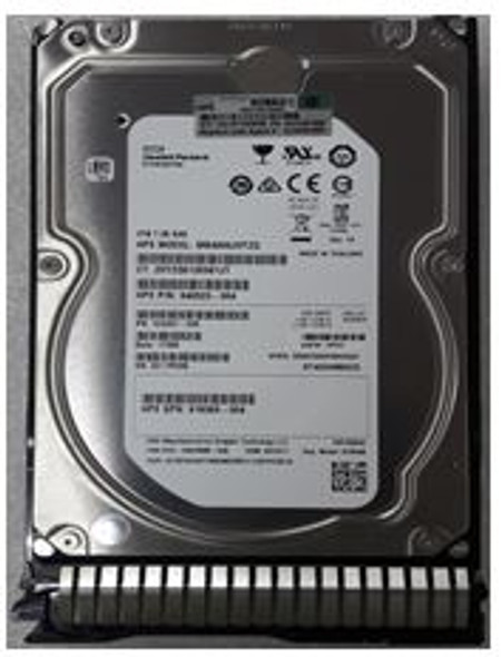 HPE 820409-002-SC 4TB 7200RPM 3.5inch LFF Dual Port SAS-12Gbps SC Midline Hard Drive for ProLiant Gen8 Gen9 Gen10 Servers (New Bulk Pack With 1 Year Warranty)