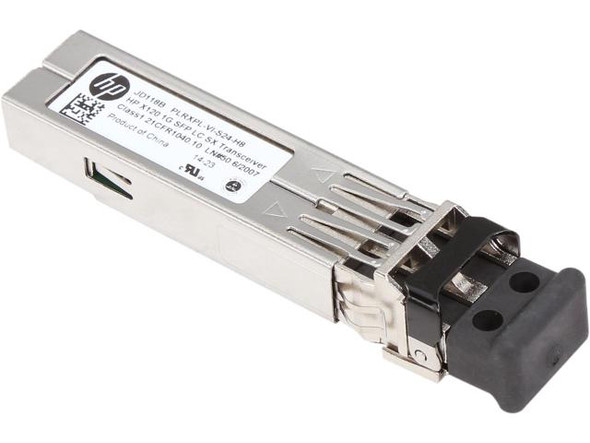 HPE JD118B X120 1Gbps SFP LC 1000Base-SX Plug-in Module 850nm Wave length Wired Gigabit Ethernet Transceiver Module