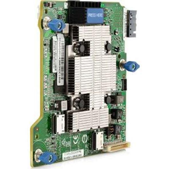 HPE 759559-001 Smart Array P542D/2GB FBWC 12Gbps PCIe 3.0 x8 4-Port Mezzanine SAS Storage (RAID) Controller for Synergy 480/620/660/680 Gen9 Compute Modules (New Bulk Pack with 1 Year Warranty)