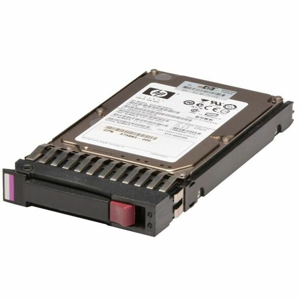 HPE EG0450FBDSQ 450GB 10000RPM 2.5inch SFF Dual Port SAS-6Gbps Enterprise Hard Drive for ProLiant Gen4 to Gen7 Servers (New Bulk with 1 Year Warranty)