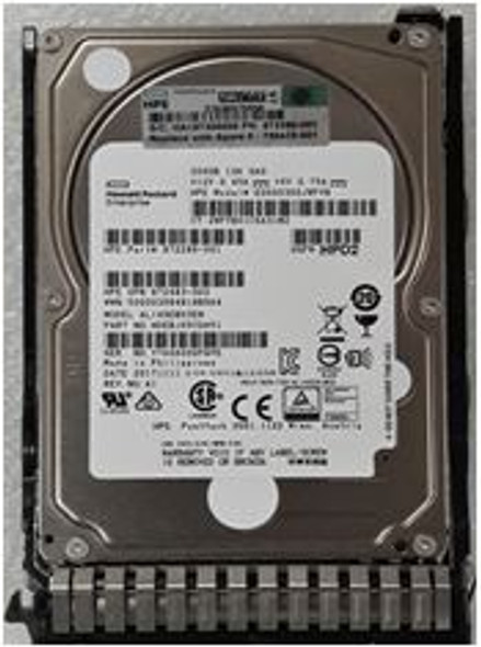 HPE 785067-B21 300GB 10000RPM 2.5inch SFF Dual Port SAS-12Gbps SC Enterprise Hard Drive for ProLiant Gen8 Gen9 Gen10 Servers (New Bulk Pack with 1 Year Warranty)