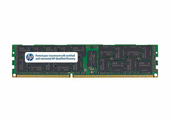 HPE 647653-081 16GB (1x16GB) 1333 MHz 240-Pin PC3-10600 ECC Registered CL-9 Dual Rank DIMM DDR3 SDRAM Memory for ProLiant Gen8 Server (New Bulk Pack with 1 Year Warranty)