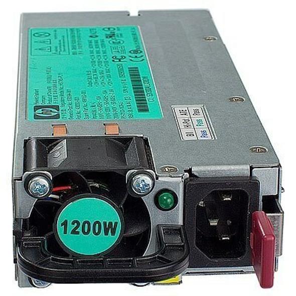 HPE 643933-001 1200Watt Common Slot Platinum Plus High Efficient Hot Plug Power Supply for ProLiant Gen8 Gen9 Servers (Clean Pull with 90 Days Warranty)
