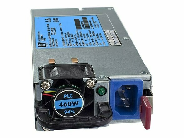 HPE 499250-101 460Watt 100V-240V AC High Efficiency Common Slot Power Supply for ProLiant Gen6 Gen7 Gen8 Gen9 Servers (Grade A with 90 Days Warranty)
