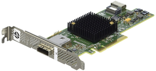 HPE 660086-001 H222 8 Channel 4 internal and 4 external SAS ports PCI Express3.0 X8 SAS/SATA 6Gbps Host Bus Adapter for ProLiant Gen8 Gen9 Gen10 Servers (New Bulk Pack with 1 Year Warranty)