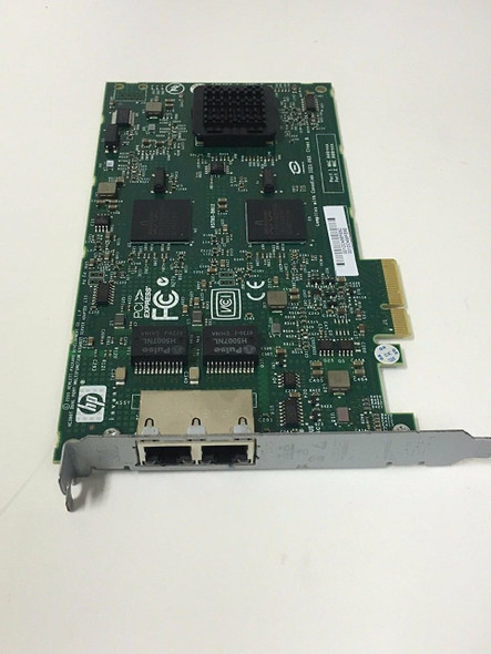 HPE NC380T 374443-001 1Gbps Dual Port 1000Base-T - RJ-45 PCI Express x4 Plug-in card Wired Network Adapter for ProLiant Gen1 to Gen7 Servers (New Bulk Pack with 1 Year Warranty)
