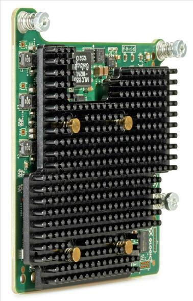 HPE Flexfabric 701528-001 20GBps Dual Port PCI Express 2.0 x8 FCoE Gigabit Ethernet Wired Network Adapter for ProLiant Gen8 Gen9 Servers (New Bulk Pack with 1 Year Warranty)