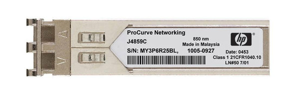 HPE ProCurve J4859-69301 X121 1Gbps SFP LC- 1000Base-LX Full Duplex Mini-GBIC Plug-in module Gigabit Ethernet Wired Transceiver Module (Brand New with 3 Years Warranty)