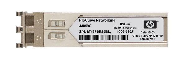 HPE ProCurve J4859-69301 X121 1Gbps SFP LC- 1000Base-LX Full Duplex Mini-GBIC Plug-in module Gigabit Ethernet Wired Transceiver Module (New Bulk Pack with 1 Year Warranty)
