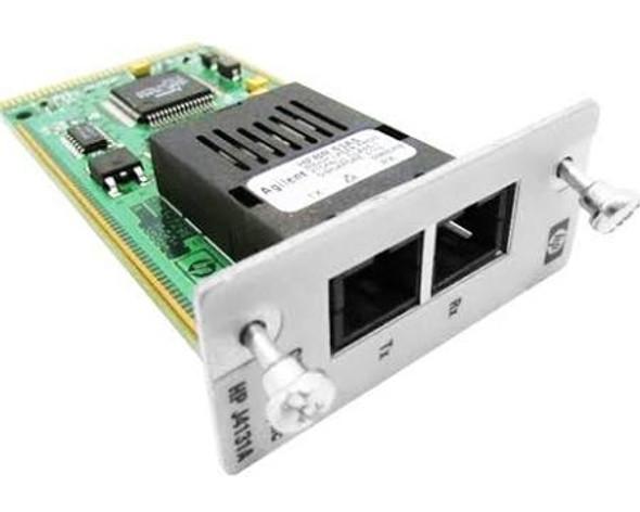 HPE Procurve J4131-61401 1Gbps Single Port Gigabit-SX MultiMode Fiber Ethernet Wired Transceiver Module (90 Days Warranty)