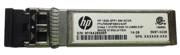 HPE J9054-61201 X111 100 Mbps SFP+ LC 100Base-FX Plug-in Module Full Duplex Wired Fast Ethernet Transceiver Module (Brand New with 3 Years Warranty)