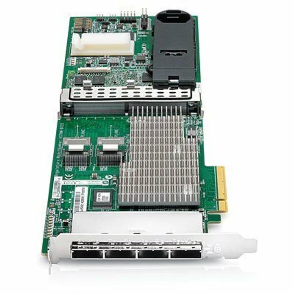 HPE 587224-001 Smart Array P812/1Gb FBWC Dual Ports Internal/Quad Ports External PCIe x8 SAS/SATA Controller for ProLiant Gen6 Gen7 Servers (New Bulk Pack with 1 Year Warranty)